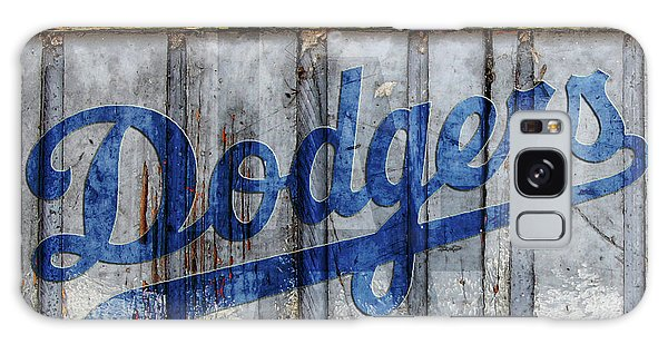 La Dodgers Rustic Galaxy Case