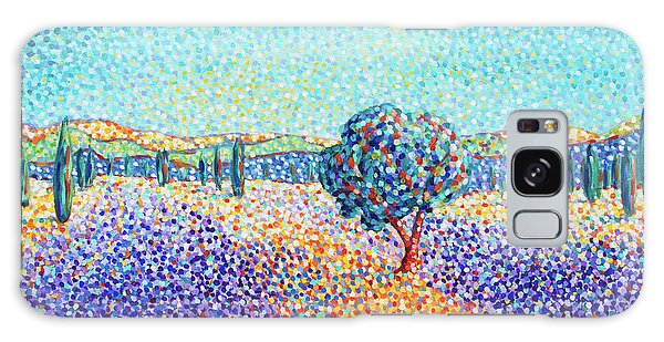 Lavender Field In Provence Galaxy Case
