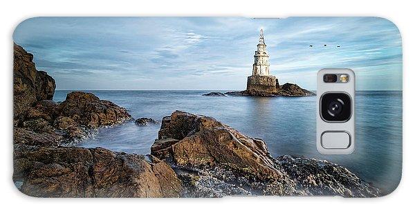 Lighthouse In Ahtopol, Bulgaria Galaxy Case