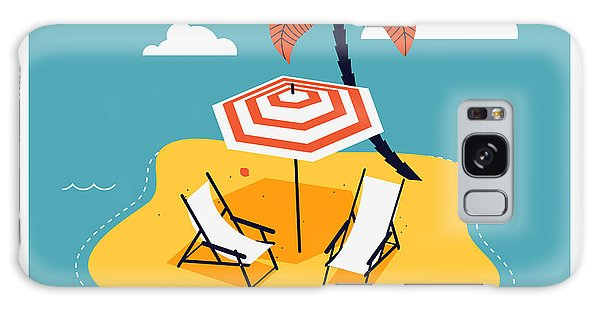 Parasol Galaxy Case - Lovely Vector Web Icon With Rounded by Mascha Tace