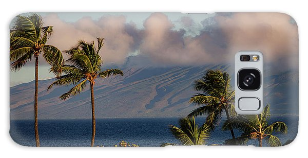 Maui Palms Galaxy Case