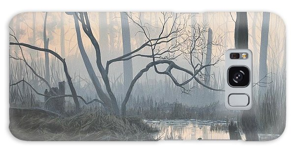 Misty Hideaway - Wood Duck Galaxy Case