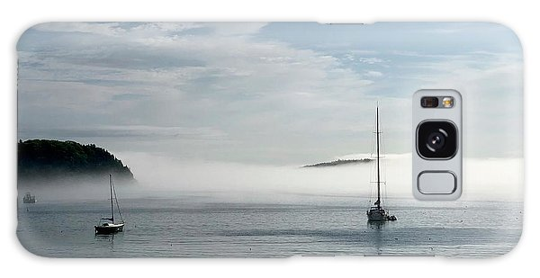 Dick Goodman Galaxy Case - Morning Mist On Frenchman's Bay by Dick Goodman