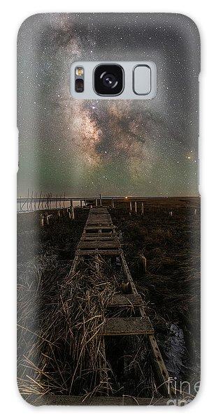 Board Walk Galaxy Case - Path To The Stars  by Michael Ver Sprill