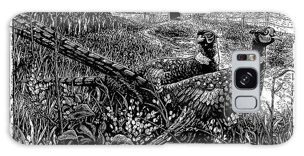 Pheasants Galaxy Case