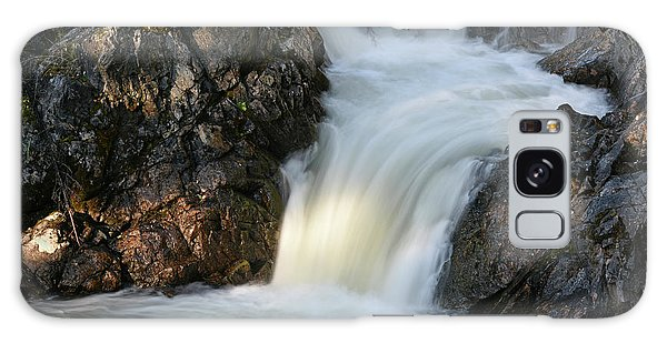 Boreal Forest Galaxy Case - Rancheria Falls, Rancheria River by Gerry Reynolds