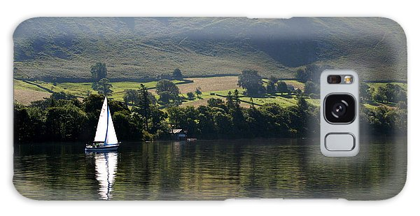 Navigation Galaxy Case - Sailboat On Ullswater In The Lake by Paul Banton