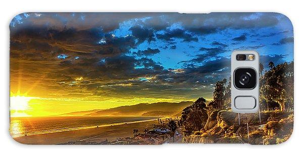 Santa Monica Bay Sunset - 10.1.18 # 1 Galaxy Case