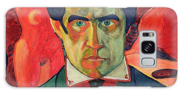 Russian Impressionism Galaxy Case - Self Portrait, 1910 by Kazimir Malevich