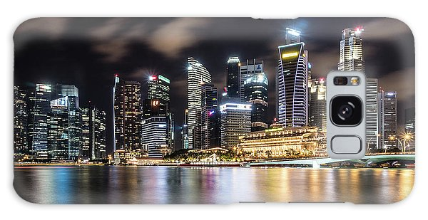 Singapore By Night Galaxy Case