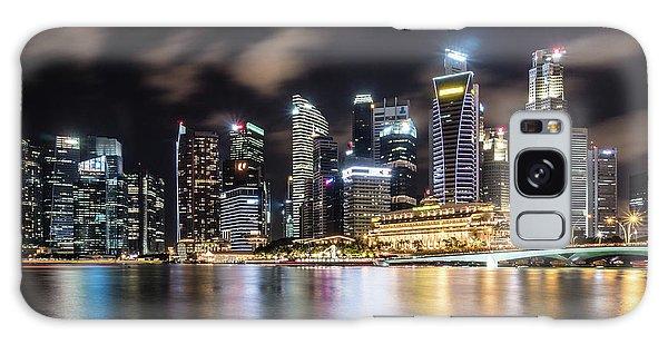 Singapore By Night Galaxy Case