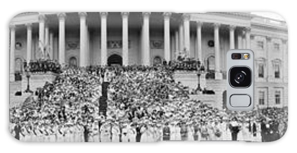 March On Washington Galaxy Case - Singing The March Of The Women by Fred Schutz Collection