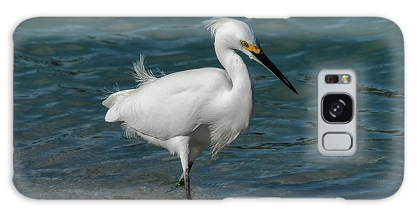 Galaxy Case featuring the photograph Snowy Egret by Ken Stampfer