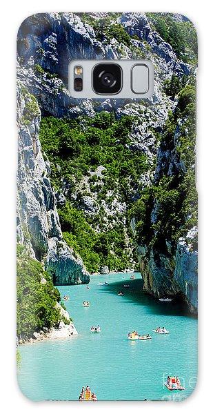 Summertime Galaxy Case - St Croix Lake, Les Gorges Du Verdon by Richard Semik