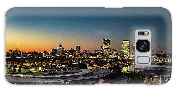 Galaxy Case featuring the photograph Summerfest Sunset by Randy Scherkenbach