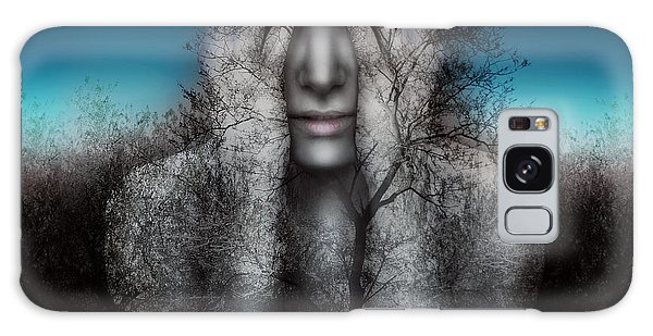 Mythology Galaxy Case - Surreal And Artistic Image Of A Girl by Valentina Photos
