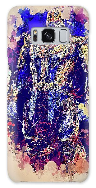 Thanos Watercolor Galaxy Case