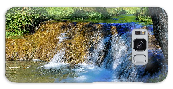 The Springs In It's Summer Green, Big Hill Springs Provincial Re Galaxy Case