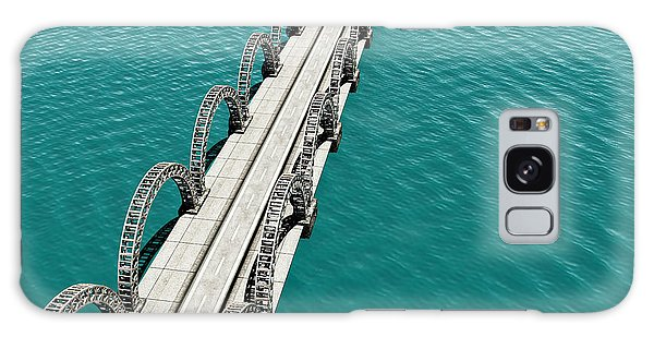 Reflections Galaxy Case - The View Of Old Bridge For Adv Or by Nh