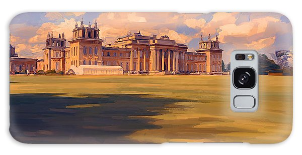 The White Party Tent Along Blenheim Palace Galaxy Case