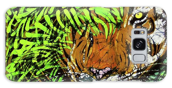 Tiger In Bamboo Galaxy Case