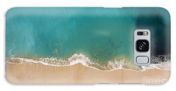 Seashore Galaxy Case - Top View Aerial Photo From Flying Drone by Gaudilab