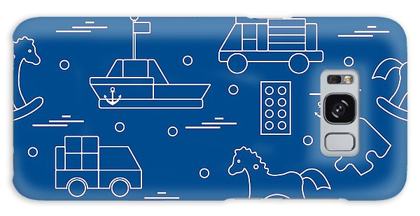 Success Galaxy Case - Vector Illustration Kids Toys Objects by Aquamarine Painter