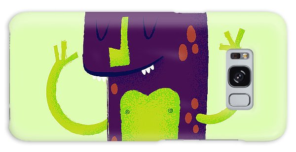 Outer Space Galaxy Case - Vector Set Of Cartoon Cute Character by Quantium