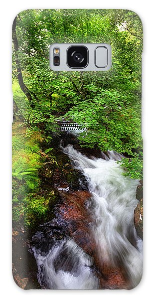 Fairy Pools Galaxy S8 Case - Waterfall In The Forest by Debra and Dave Vanderlaan