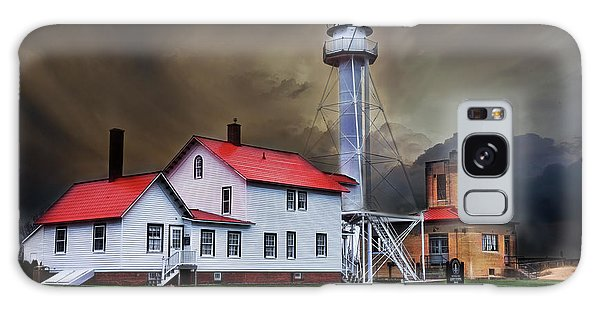 Whitefish Point Lighthouse Galaxy Case