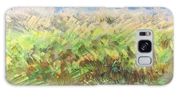 Windy Fields Galaxy Case