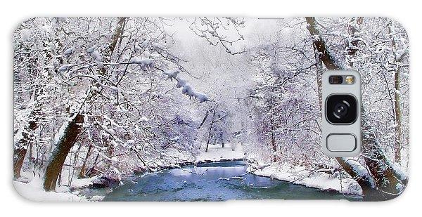 Winter White Galaxy Case