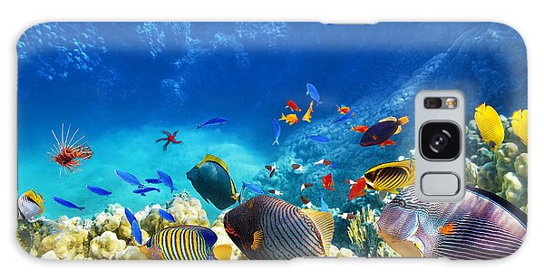 Turtle Galaxy Case - Wonderful And Beautiful Underwater by V e