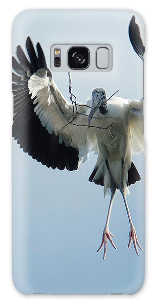 Galaxy Case featuring the photograph Woodstork Nesting by Donald Brown