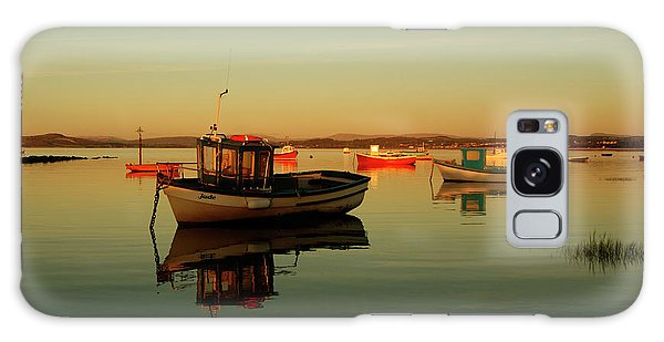 10/11/13 Morecambe. Boats On The Bay. Galaxy Case