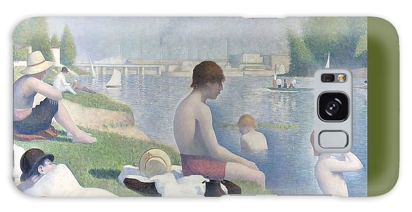 Bathers At Asnieres Galaxy Case