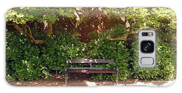 11/05/19 Chorley. Astley Hall. Walled Garden. Sunlit Bench. Galaxy Case