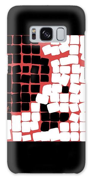 Galaxy Case featuring the digital art 11 X 11 Nude by Attila Meszlenyi