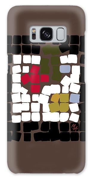 Galaxy Case featuring the digital art 11 X 11 Still Life by Attila Meszlenyi
