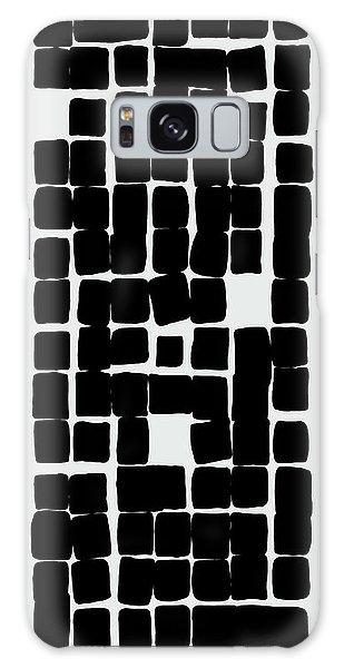 Galaxy Case featuring the digital art 14 X 7 - 3 by Attila Meszlenyi