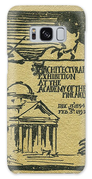1894-95 Catalogue Of The Architectural Exhibition At The Pennsylvania Academy Of The Fine Arts Galaxy Case