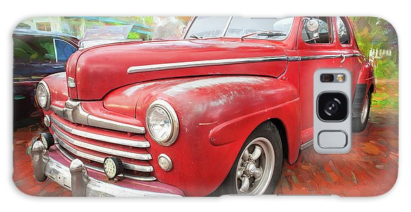 Dual Exhaust Galaxy Case - 1947 Ford Super Deluxe Coupe 001 by Rich Franco