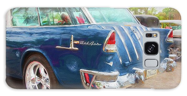 Dual Exhaust Galaxy Case - 1955 Chevrolet Bel Air Nomad Station Wagon 228 by Rich Franco
