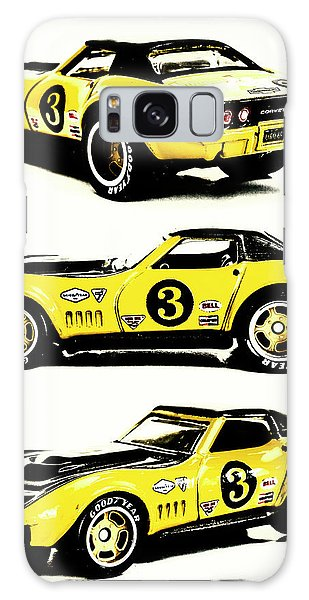 Sport Car Galaxy Case - 1969 Chevrolet Copo Corvette by Jorgo Photography - Wall Art Gallery