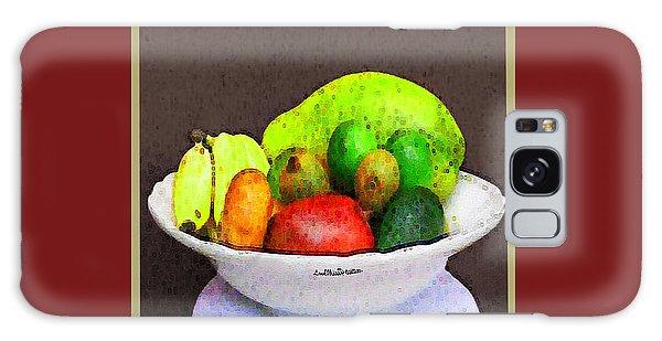 Abstract Fruit Art   103 Galaxy Case