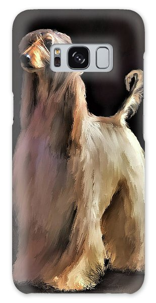 Afghan Hound Galaxy Case