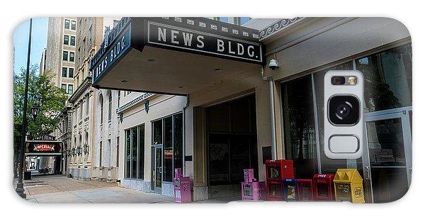 Broad Street Downtown Augusta Ga Galaxy Case
