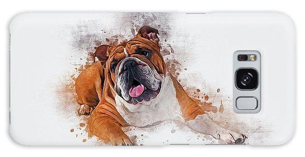 Bulldog Galaxy Case