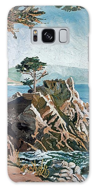 Monterey Galaxy Case - Cypress Point Monterey by David Lloyd Glover