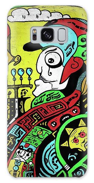 Galaxy Case featuring the digital art Emperor by Sotuland Art